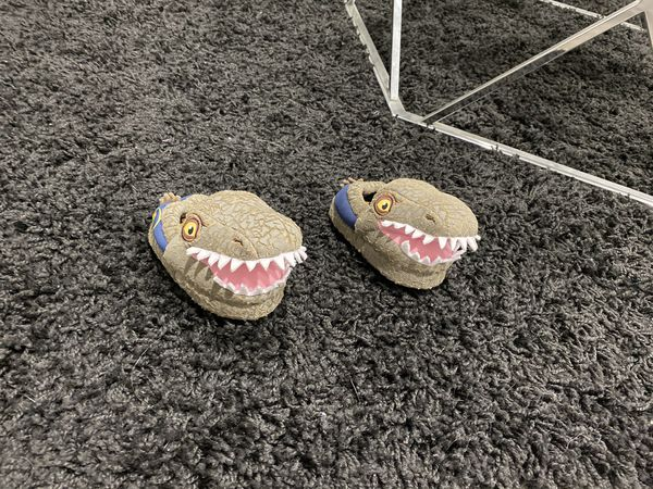 Toodle Dinosaurs Slippers Size 5/6