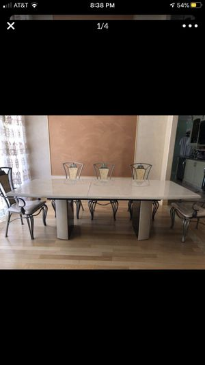 Italian dining set with 8 chairs for Sale in Los Angeles, CA