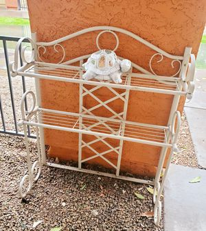 Wrought iron stand for Sale in Glendale, AZ