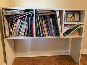 White bookcase for Sale in Kensington, MD