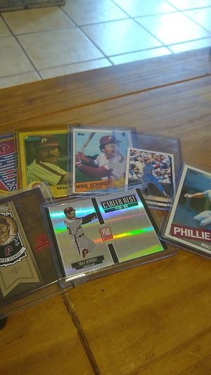 Michael Jack Schmidt Phillies cards (7) for Sale in Coatesville, PA