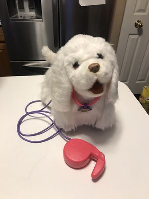 FurReal Friends Walking pup dog! Really walks with leash. Batteries included. for Sale in IL, US