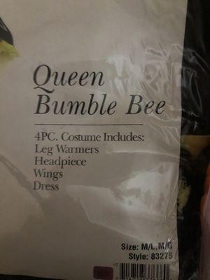Queen bumble bee Halloween costume for Sale in San Jose, CA