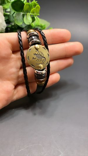 12 Constellations Multilayer Leather Bracelet, Scorpio for Sale in Los Angeles, CA
