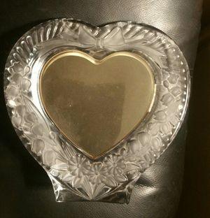 CUT CRYSTAL HEART FRAME STUDIO NOVA JAPAN for Sale in Pinellas Park, FL