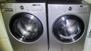 """""""LG"""" FRONTLOADER MATCHING SET WASHER AND GAS DRYER KING SIZE CAPACITY 4.3 cu ft for Sale in Phoenix, AZ"""