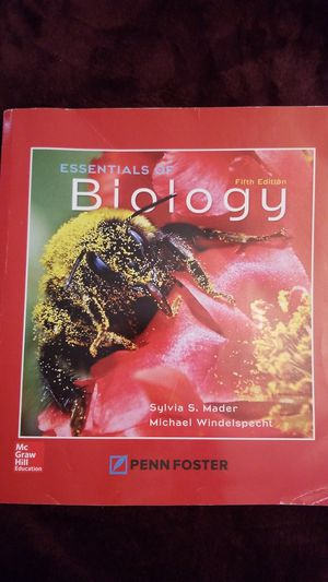 Textbook: Essentials of Biology 5th edition for Sale in Santa Ana, CA