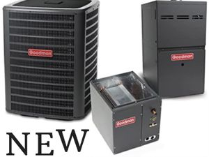 NEW AC AND HEATING SYSTEM , CONDENSER COIL FURNACE for Sale in Moreno Valley, CA