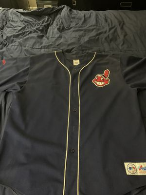 Cleveland Indians authentic baseball jersey 2x like new!!! for Sale in Orlando, FL