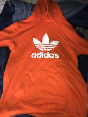 Orange adidas Hoodie Large for Sale in Tucker, GA