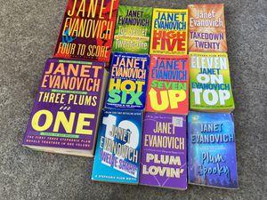 Janet Evanovich books all for $5 for Sale in Oakland, CA