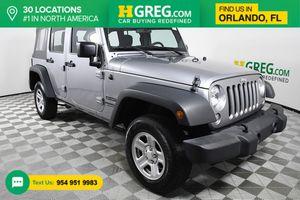 2016 Jeep Wrangler Unlimited for Sale in Orlando, FL