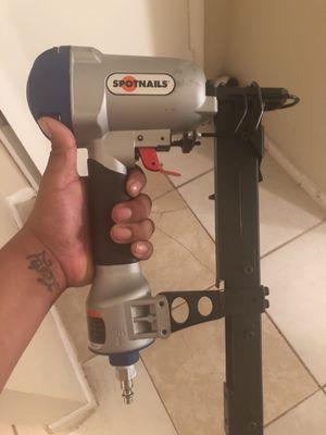 Staple air gun spot nails for Sale in Orlando, FL