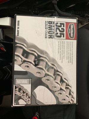 525 motorcycle chain for Sale in Miami, FL