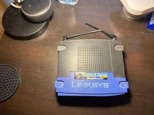 Linksys Router WRT54GS Speedbooster for Sale in Hialeah, FL