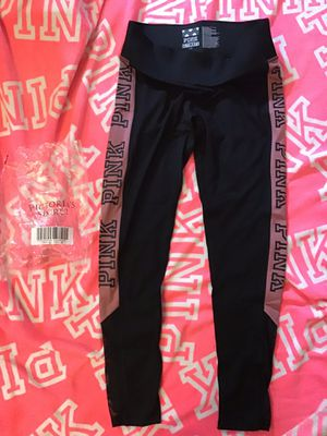 Victoria's Secret Pink Leggings W/Mesh, New,M for Sale in Richmond, VA