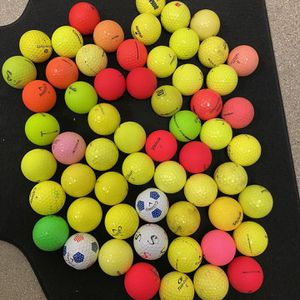 60 Assorted Color Golf Balls! for Sale in City of Industry, CA