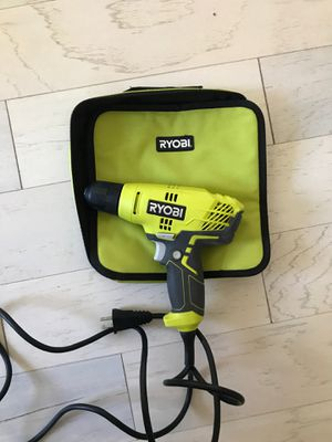 Ryobi Corded Power Drill for Sale in St. Petersburg, FL