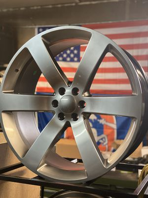 New rims for Chevy dodge ford Toyota Nissan hummer for Sale in Lakewood, CO