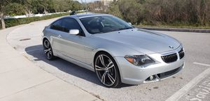 BMW 645ci -Low Miles/Clean Title- for Sale in Tampa, FL