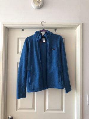 Patagonia Blue Better Sweater Hooded Jacket - Adult Small for Sale in Seattle, WA