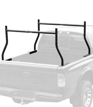 ADJUSTABLE UTILITY WORK PICK UP TRUCK DOUBLE LADDER RACKS LUMBER KAYAK RACK for Sale in Hacienda Heights, CA