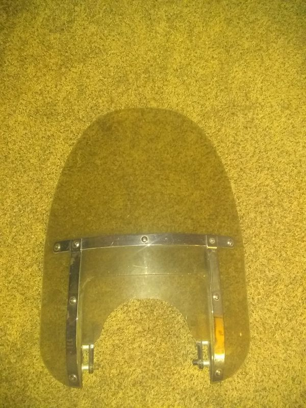 Used harley national cycle switchblade two up windshield AS IS $80 for ICT