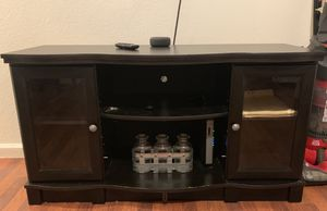 Black Ikea Tv stand for Sale in National City, CA