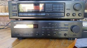 Tuner amplifier and stereo receiver for Sale in Fresno, CA