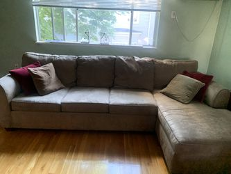 Sectional - Queen sleeper - from Jordan's Furniture for Sale in Woburn,  MA