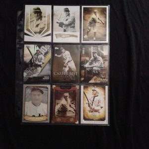 (9) Different HONUS WAGNER Baseball Card Lot Pittsburgh Pirates for Sale in Redmond, WA