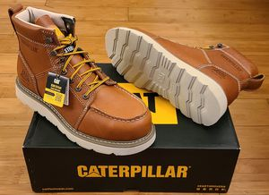 CAT Work Boots size 8,8.5,9 and 11 for Men. for Sale in Lynwood, CA
