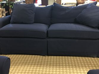 Deep Navy Sofa for Sale in Bellevue,  WA
