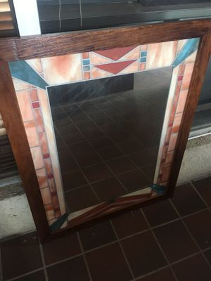 Stained glass mirror for Sale in Hinsdale, IL