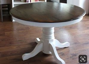 """Beautiful 42"""" round solid wood dining/kitchen table ! for Sale in Port Orchard, WA"""