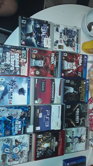Ps3 and ps4 games for Sale in Norwalk, CA