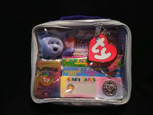 Mint Condition Ty Beanie Babies Clubby II Platinum Membership Kits Including Unopened Mystery Coins And Mystery Trading Cards Gasport Tag Errors for Sale in Portland, OR