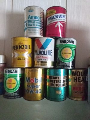 Oil cans for Sale in Mokena, IL