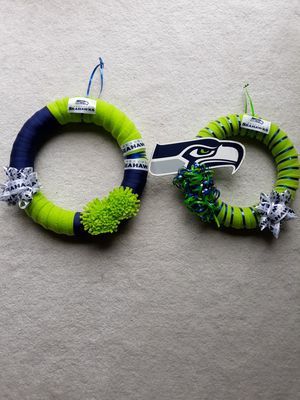 Seahawks Wreath for Sale in Puyallup, WA