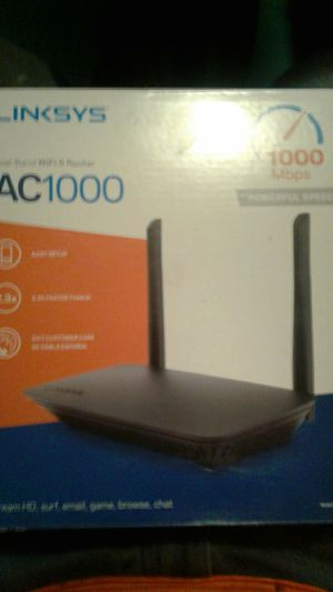 Linksys AC1000 duel band wifi 5 router for Sale in Las Vegas, NV