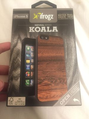 IFrogz natural series KOALA IPhone 5 for Sale in Columbia, SC