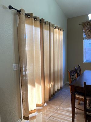 Sliding door curtain for Sale in Peoria, AZ