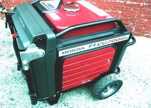 ֆ1000 Generator Honda EU7000IS 7000W for Sale in Berlin, VT