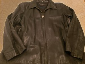 Leather jacket size 3xl runs smaller like 1xl for Sale in Brooklyn, NY