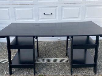 """Black Desk 64""""x30"""" for Sale in Redmond,  WA"""