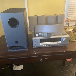 ONKYO RECEIVER + HOME THEATER for Sale in Inglewood, CA