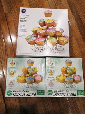 Dessert Stands Cupcake 3 Tier and 4 Tier for Sale in Rockville, MD