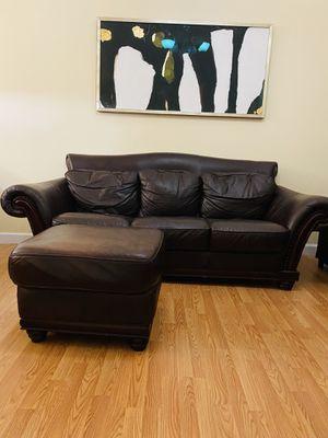 sofa and ottoman for Sale in Miami, FL