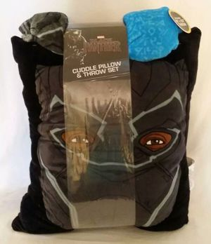 BLACK PANTHER Marvel Avengers Cuddle Pillow And Blanket Throw Set NEW!! for Sale in Phoenix, AZ