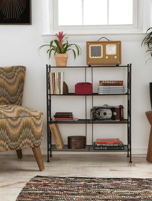 Urban Outfitters Black Metal Bookcase Shelf for Sale in Seattle, WA